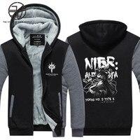 Gzpw cosplay NieR:Automata New winter men and women Thickening coat Casual fashion Keepwarm Sports hoodies USA size M-5XL