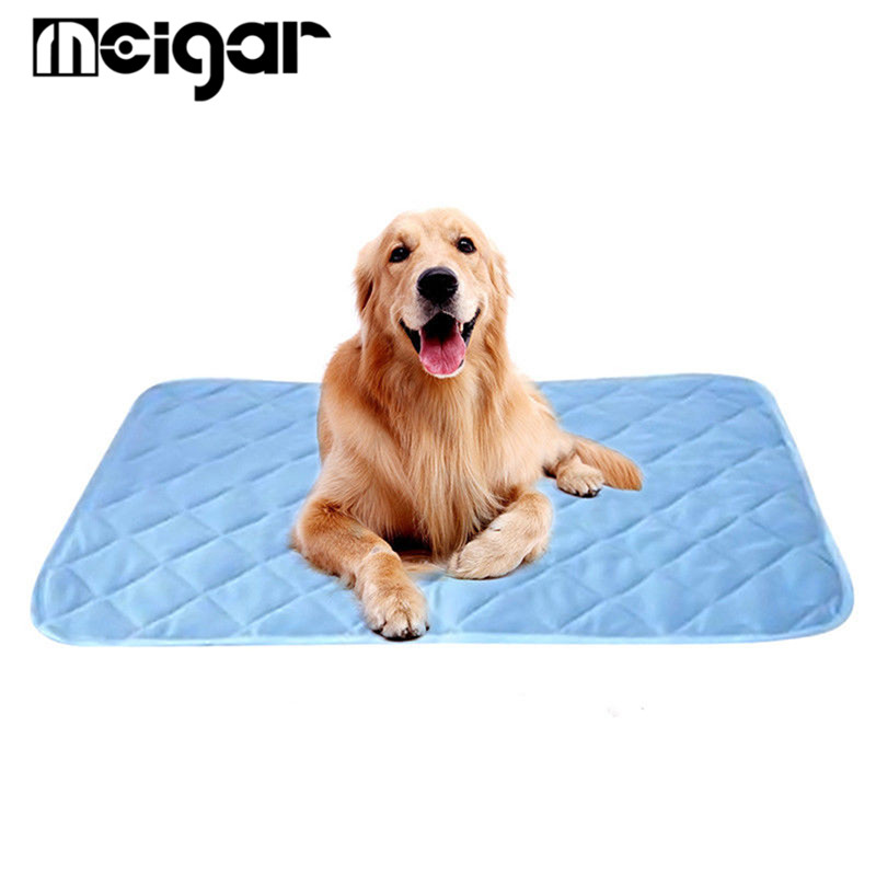 Pet Cooling Mat Dog Chill Bed Indoor Summer Heat Relief