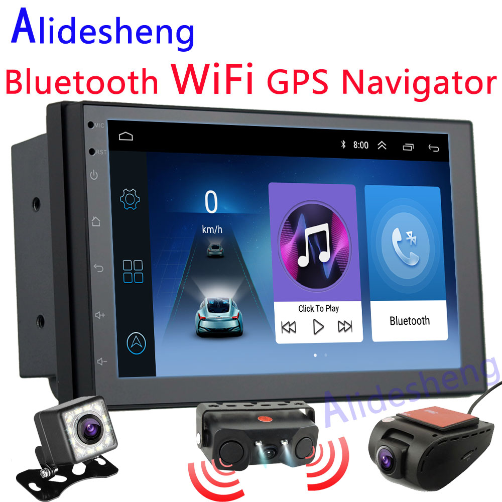 DVR Video-Player Multimedia Car-Radio Audio Touch-Screen Rear-View-Camera Android 8.1