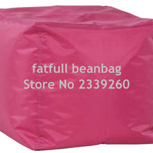 Stool Sofa-Chair COVER Living-Room Outdoor Furniture Bean-Bag No-Filler-Pink ONLY Waterproof