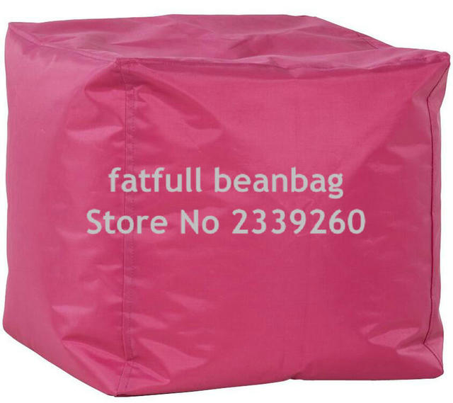 COVER ONLY NO FILLER pink bean bag sofa chair, outdoor waterproof ...