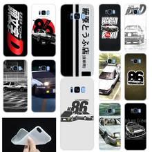09774868102 D inicial AE86 modelo suave TPU de silicona cubierta de la caja del teléfono  para Samsung