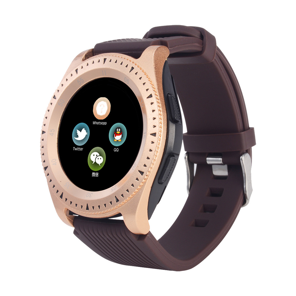 The New Z4 Bluetooth 3.0 Smart Watch Supports Android Phone SIM Card and TFcard Under Dollar image