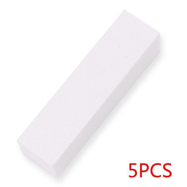 Nail Art Buffers Sanding Block Buffing Grinding Polishing Block Nail File Buffer Pedicure Professional Nail Art Tools 5