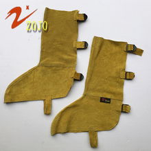 Knee Protector Brand Zojo Layer Two Cattlehide Knee Pads For Work 3colors Chemical Boots Welding Leg Warmers Leather Guard C095
