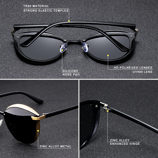 Cat Eye UV400 Sunglasses