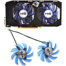 Original 85mm FDC10U12S9-C 4PIN  For HIS RX470 GPU Cooler fan RX 470 Turbo 4GB OC RX474 RX570 PC Cooling