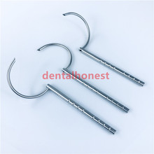 Brand new 4mm hole Wire Passers Guider Veterinary orthopedics Instrument (L/R/S) tools