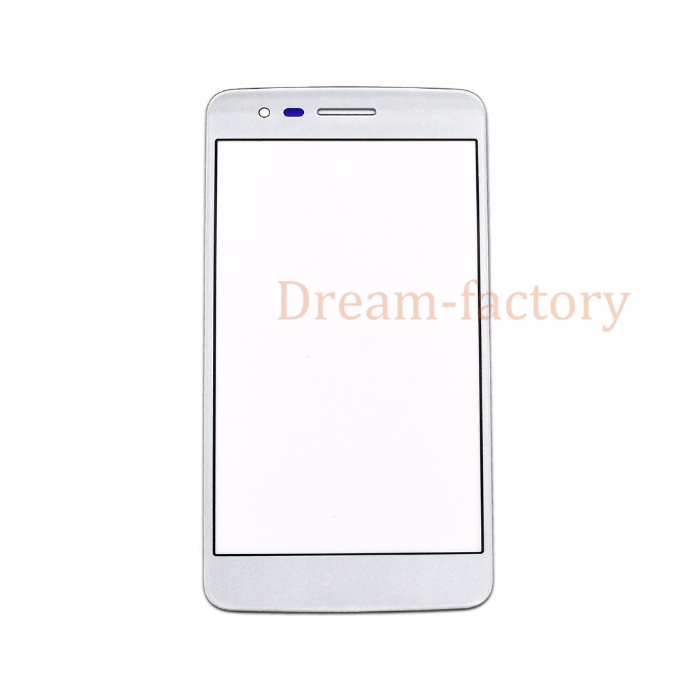 50pcs Front Touch Screen Outer Glass For LG K8 2017 M200N US215 X300 K120L K120K K120S Free DHL