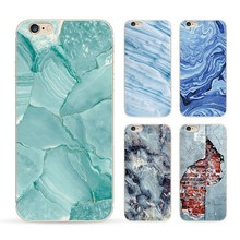 Phone Cases For iPhone 6 6s 5 5s SE 6Plus 6s Plus Marble Image Pattern Soft Silicon Ultra Thin Mobile Phone Bag Fundas Coque