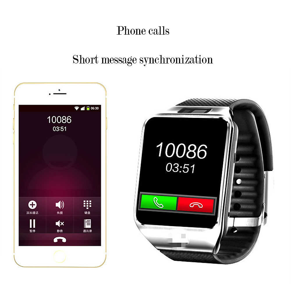Новые Bluetooth умные часы, умные часы DZ09 Android Телефонный звонок Relogio для мобильного телефона 2G GSM SIM карты Камера для IPhone samsung Xiaomi PK GT08 A1