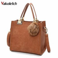 Hot Sale Suede Leather Bags Women Brand Designer Handbags High Quality Tote Women Shoulder Messenger Bags