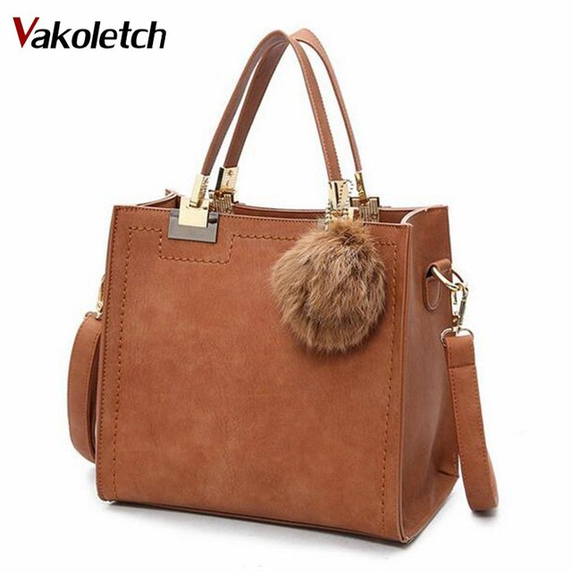 Hot Sale Suede Leather Bags Women Brand Designer Handbags High Quality Tote  Women Shoulder Messenger Bags A-56 ba4bb7b8e96ef