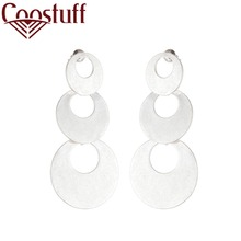Hotsale Silver Women Earrings Stud Vintage Jewelry Wholesale Long Dangle pendientes brincos earrings for