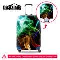 Dispalang design colorido elástico poeira chuva carrinho de bagagem do curso de proteção capas para 18-30 polegada mulheres mala tampa trecho