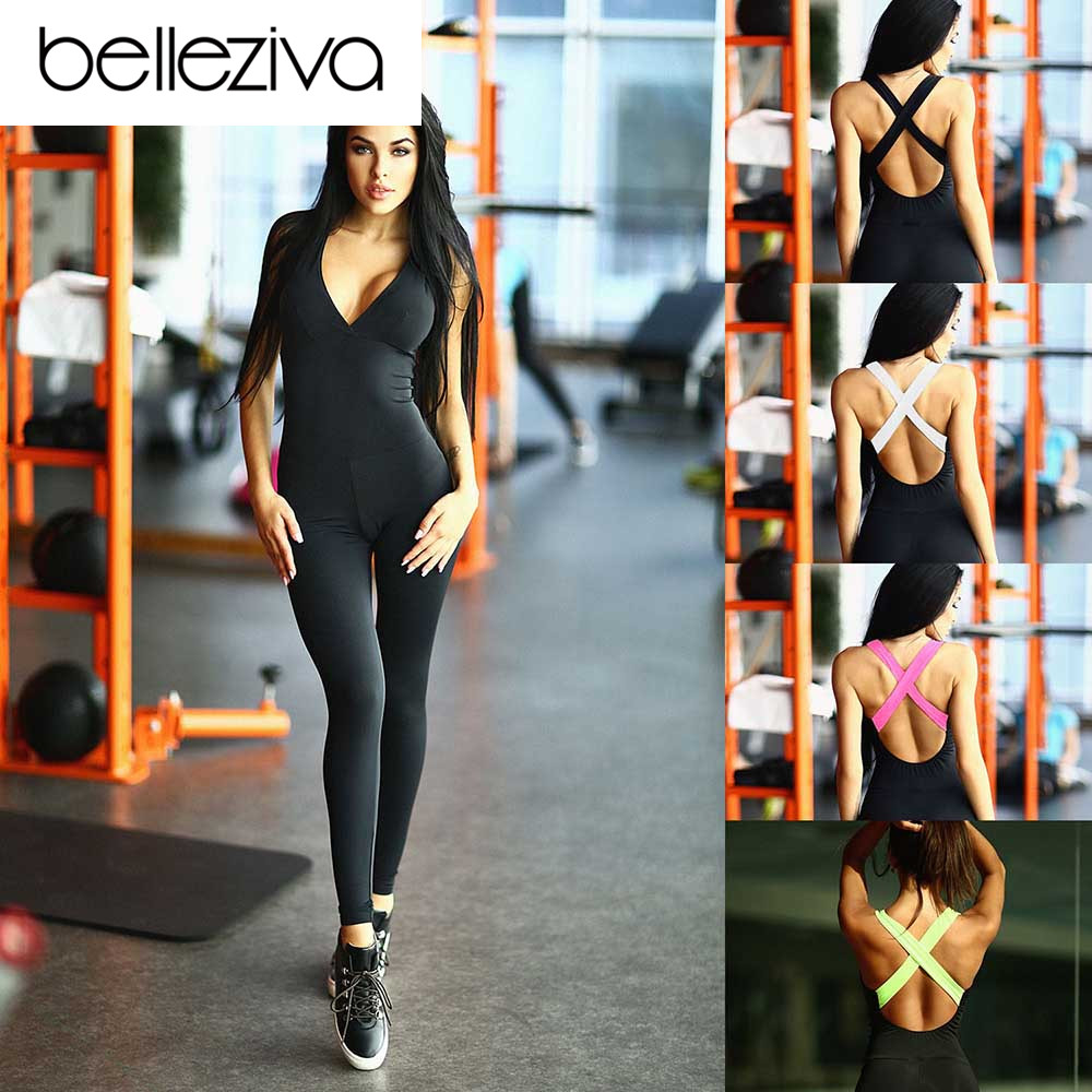 Belleziva Ladies Sports activities Garments Fitness center Yoga Units Operating Health Dancing Elastic Sport Jumpsuit Outfit Feminine Exercise Clothes Fits Aliexpress, Aliexpress.com, On-line procuring, Automotive, Telephones & Equipment, Computer...