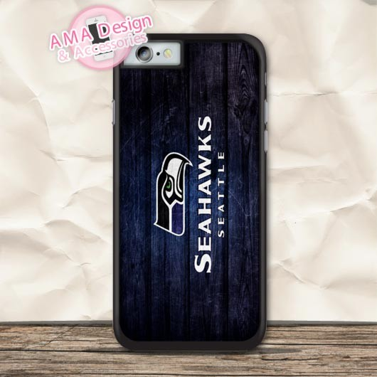 reputable site 6a6fa c6bf6 Seattle Seahawks American Football Case For iPhone X 8 7 6 6s Plus 5 5s SE  5c 4 4s For iPod Touch 5 4