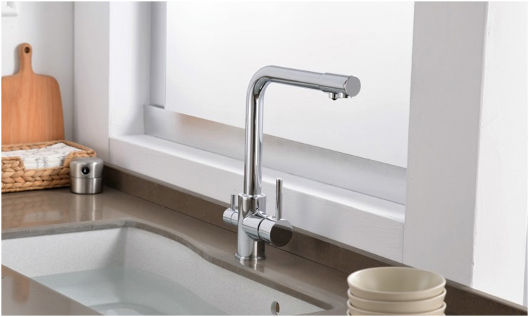 2019 Brass Swivel Drinking Water Faucet 3 Way Water Filter Purifier Kitchen  Faucets For Sinks Taps Chrome Black Beige From Starch, $89.91 | DHgate.Com
