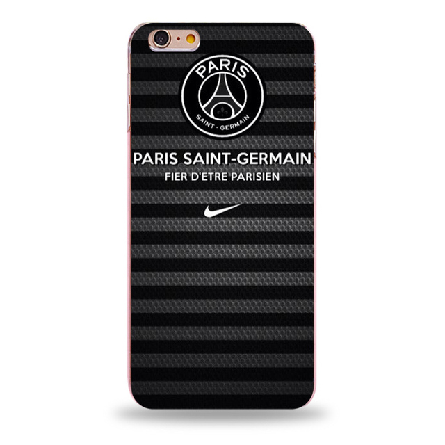 2017 PSG Coque For Iphone 5s Cases Hard Transparent PC Phone Bag Cover For Iphone 5 6 6s Plus SE 6 Plus Case Shell Cover Fundas