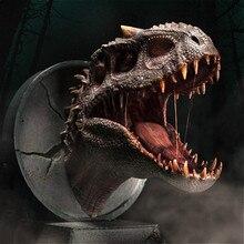 Estartek Юрского периода Дракон душа серии тираннозавр Голова Статуя с магнитным гаражный комплект для фанатов праздничный подарок