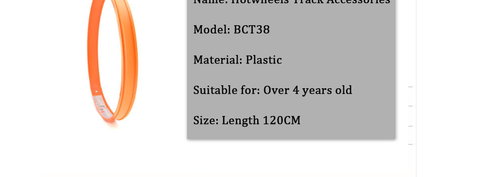 Хот Вилс 1 шт. аксессуары кольцевой трек игрушки для детей модели игрушки с дистанционным управлением Пластик миниатюрных моделей автомобилей трек развивающие слот игрушечных автомобилей BCT38