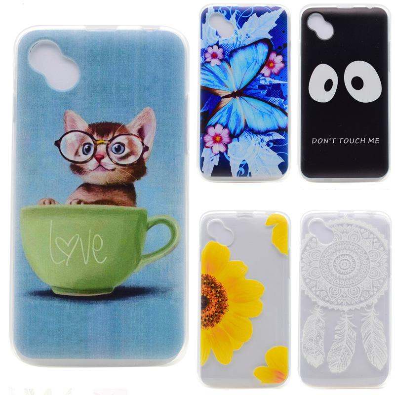 For Coque Wiko Sunny Case 4.0 inch Case Luxury Cartoon TPU Case For Wiko Sunny Cover Soft Silicone Phone Protective Back Sikn