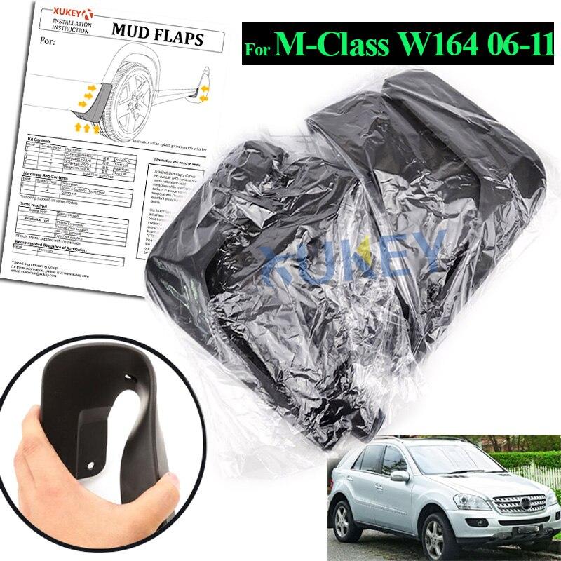 Mud Flaps For Benz M Class M Class W164 2006 2011 ML ML350 ML500 Mudflaps Splash