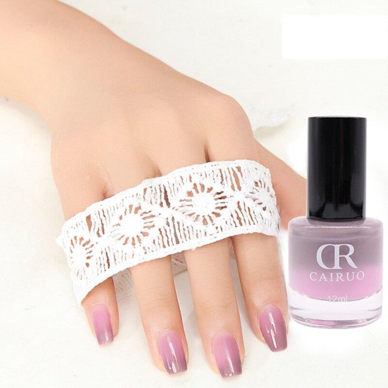 Nails Art & Werkzeuge Kreativ Geboren Ziemlich 6 Ml Thermische Nagellack Temperatur Farbwechsel Bunte Glitter Peel Off Nail Art Lack Maniküre Diy