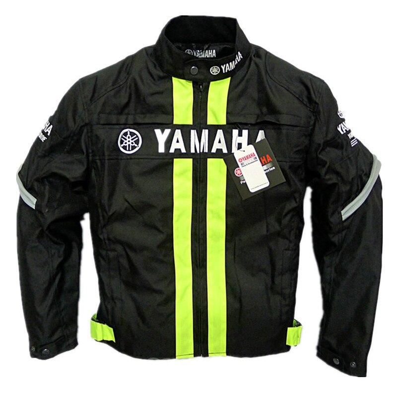New Motorcycle Jacket for YAMAHA Racing Team Winter Men Windproof Moto Motorbike Protecitve Jackets Chaquetas With Protectors