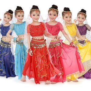 Детский костюм для танца живота, 7 шт./компл.