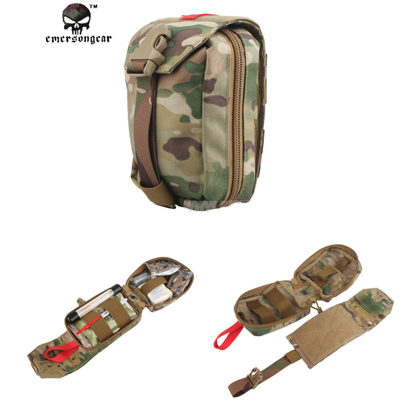 Emersongear Military First Aid Kit Medic Pouch Molle Military Airsoft  Outdoor sports Combat Gear EM6368