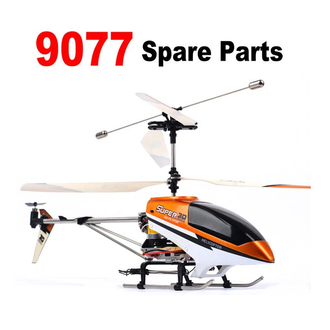 Double Horse 9077 RC Helicopter Spare Parts Backup Main Blade, Main Gear, Connect Buckle,Grip