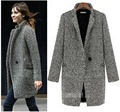 Free Shipping womens winter jackets and coats  Plus Size Warm Wool Jacket Fashion Overcoat