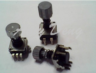 Potentiometers Analytical 20pcs/lot Japan Ec11 Type Saw Tooth Cap Spring Coding Switch 30 Posioning Number 15 Pulse Shaft Length 15mm Passive Components