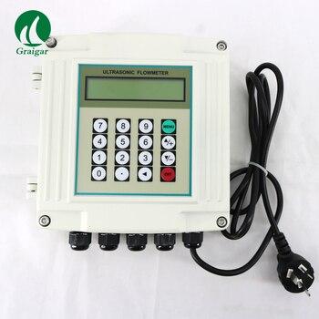 TUF-2000SW (rango de medición DN50 a DN700) medidor de flujo fijo ultrasónico de montaje en pared medidor de flujo Digital