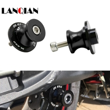 CNC Motorcycle Accessories Swingarm Sliders Spools Slider Rear Stand For suzuki DL650  for
