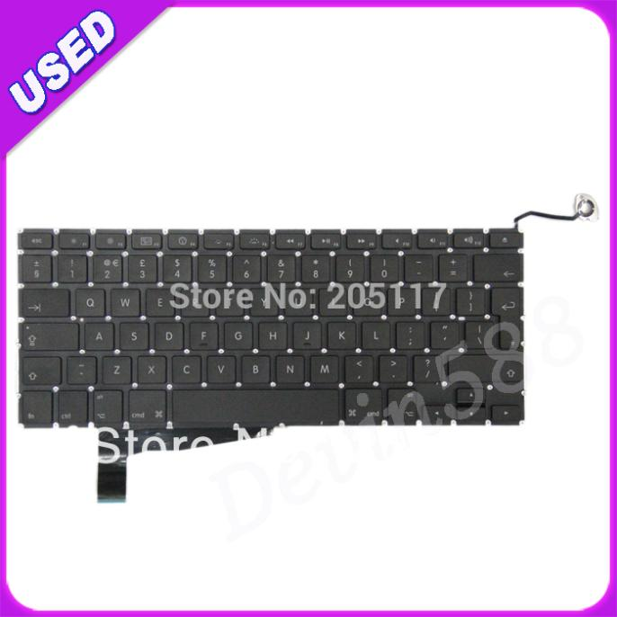 UK Keyboard For Macbook PRO 15 Unibody A1286 2008 MB470 MB471,100% WORKING ! best price for macbook pro unibody 15 a1286 swedish danish keyboard 2009 2010