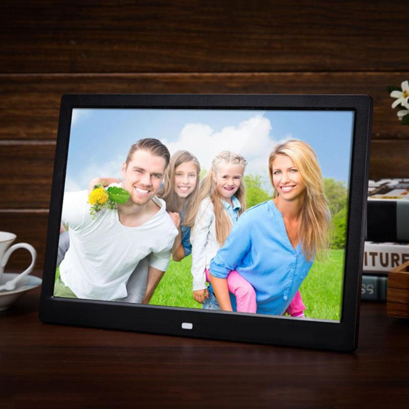 13.3 Inch Digital Photo Frame HD 1366*768 High Resolution Remote Control Electronic Album Picture Music Video Display Screen adroit high quality 10inch hd 16 9 digital photo frame picture album mp4 video player remote control 30s61122 drop shipping