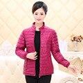 Зимняя куртка шерсть женщин пальто среднего возраста плюс размер Среднего Возраста Куртки