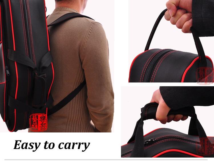 E flat altsaxofoon zakken/sax bagagebox/rugzak/dubbele schouders sax backback voor volwassen muziek instrument speelgoed - 2