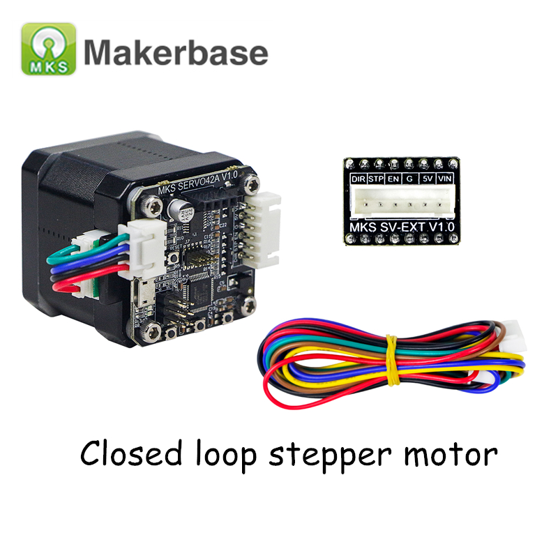 3D Printer Parts Open Source Closed Loop Stepper Motor NEMA17 MKS SERVO42 for MKS Gen L