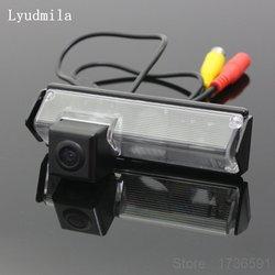 Lyudmila dla Mitsubishi Grandis MPV 2003 ~ 2011/samochód kamera parkowania widok z tyłu aparatu/HD CCD Night Vision kamera cofania kamera cofania w Kamery pojazdowe od Samochody i motocykle na