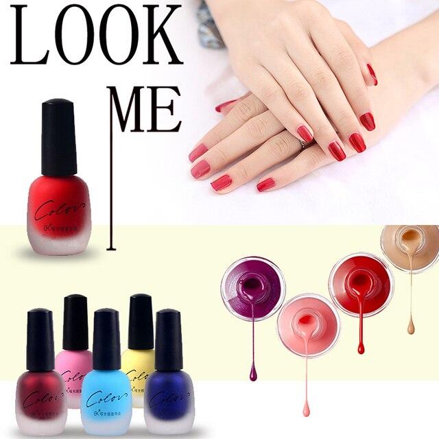 BK 20 colors optional matte nail polish 15ml nail varnish frosted ...