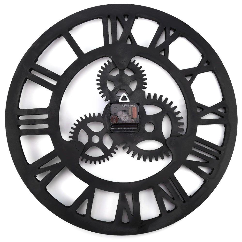 Aliexpress Com Comprar 17 7 Pulgadas 3d Grande Retro Decorativo  ~ Relojes Grandes De Pared Vintage
