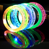 50pcs Glow Bracelets LED Flashing Light Stick Toys Glow Party Supplies Funny Luminous Stick Toys for Children Festival Xmas