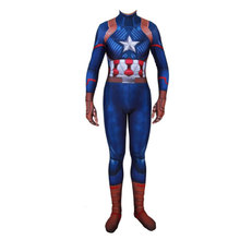 2019 new  Cosplay corset costume Halloween Costume Super Hero Tights Man Customized clothing for children Posting