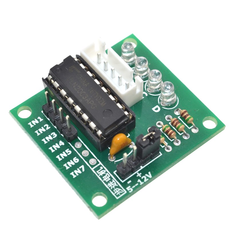 Active Components Dutiful 10pcs High-power Uln2003 Stepper Motor Driver Board Test Module For Arduino Avr Smd #hbm0049 Big Clearance Sale