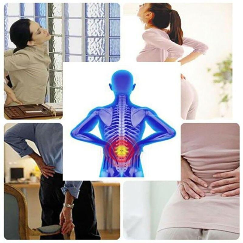 Orthopedic Belt Elastic Back Support Belt Men Adjustable Lumbar Brace Support Back Posture Corrector Brace Back Pain