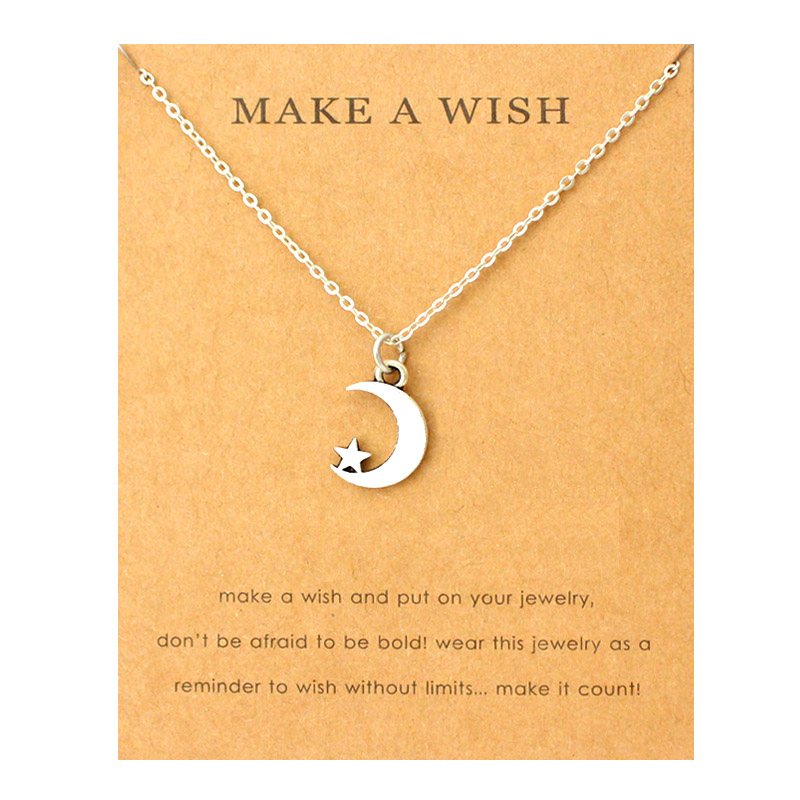 Make A Wish Charm Necklaces