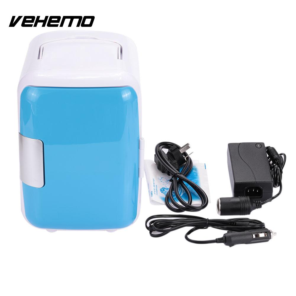 4L Car Storage Refrigerator Warming Cooling Dual Use Fridge Home Portable
